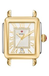 Michele Women's Deco Madison Diamond Dial Watch Case 33Mm X 35Mm