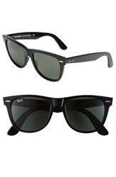 Ray Ban Women's 'Classic Wayfarer Xl' 54Mm Sunglasses Black