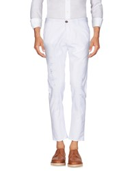 Yes London Casual Pants White