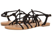Report Genny Black Synthetic Women's Sandals
