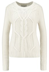 Abercrombie And Fitch Jumper Cream Beige