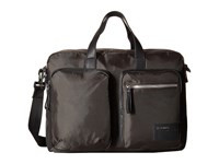 Diesel Beat The Box Crash Briefcase Coffee Bean Black Briefcase Bags Brown