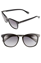 Men's Jack Spade 'Strickland' 53Mm Retro Sunglasses Black Grey Gradient