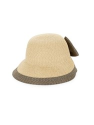 Collection 18 Textured Bow Cloche Tan