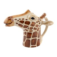 Quail Ceramics Ceramic Giraffe Jug Orange