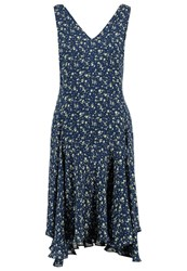 Polo Ralph Lauren Mari Summer Dress Dark Blue
