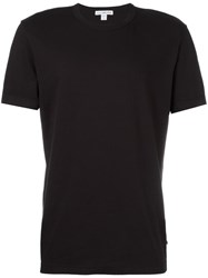 James Perse Plain T Shirt Black