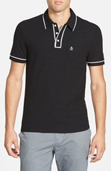 Original Penguin Men's 'Earl' Pique Polo Caviar