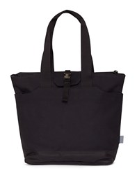 C6 Long Handle North South Tote Canvas Black