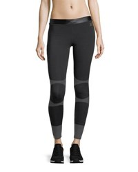 Monreal London Action Full Length Performance Leggings Black Pattern