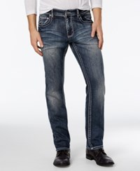 Inc International Concepts Men's Marc Slim Fit Dark Wash Jeans Only At Macy's