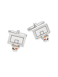 Saks Fifth Avenue Basketball Hoop Cuff Links No Color