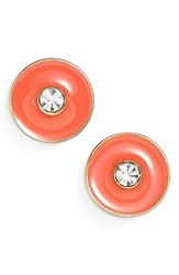 Women's Kate Spade New York 'Set In Stone' Stud Earrings Coral