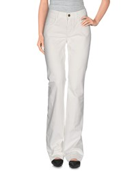 Maison Clochard Trousers Casual Trousers Women White
