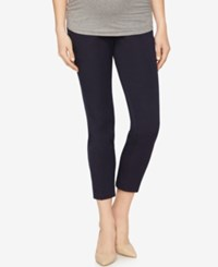 A Pea In The Pod Maternity Skinny Ankle Pants Navy
