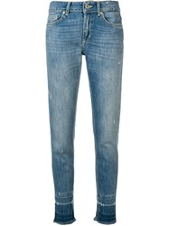 Dondup Faded Slim Jeans Blue