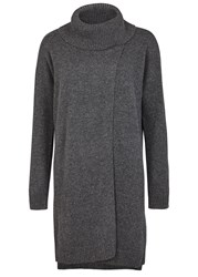 Eileen Fisher Charcoal Cashmere Tunic
