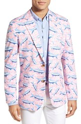 Men's Vineyard Vines 'Tropical Tarpon' Print Cotton Sport Coat