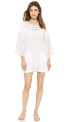 Tory Burch Solamir Cover Up Dress White White