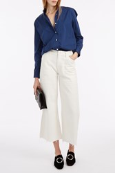 Citizens Of Humanity Melanie Crop Wide Jeans Ivory