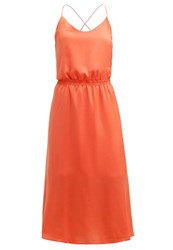 Mintandberry Summer Dress Emberglow Coral