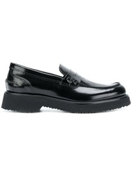 Anna F. Penny Loafers Black