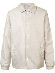 Wesc Coach Jacket Men Polyester S Nude Neutrals