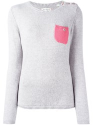 Chinti And Parker Pocket Jumper Grey