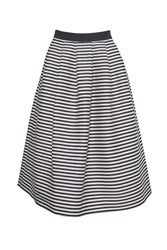 Great Plains Bella Brenton Stripe Skirt Blue