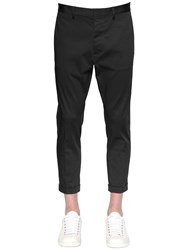 Dsquared 16.5Cm Stretch Cotton Twill Chino Pants