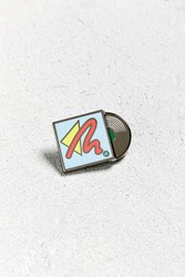 Urban Outfitters Uo Vinyl Moveable Pin Blue