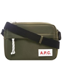 A.P.C. Protection Camera Bag Green