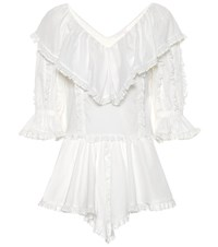 See By Chloe Cotton Blouse White