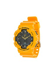 G Shock Ga 100A 9Aer Watch Yellow And Orange