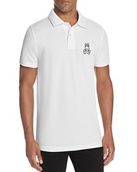 Psycho Bunny Alto Regular Fit Pique Polo Shirt White
