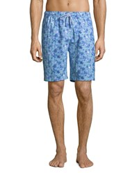 Peter Millar Confetti Del Mar Swim Trunks Blue