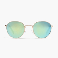 Madewell Fest Aviator Sunglasses Gold