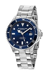 Stuhrling Men's Automatic Diver Watch Metallic
