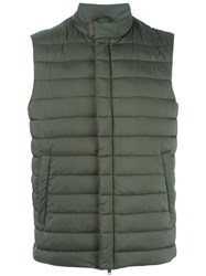 Herno Classic Gilets Green