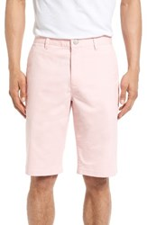 Bonobos Men's Stretch Washed 11 Inch Chino Shorts Faded Flamingo