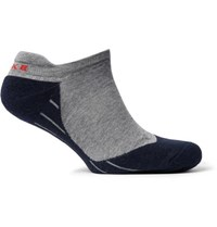 Falke Ergonomic Sport System Ru4 Stretch Knit No Show Socks Black