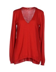 Marani Jeans Sweaters Red