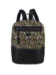 Christian Louboutin Aliosha Printed Canvas And Leather Backpack