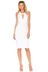 Kendall Kylie Cut Out Dress White