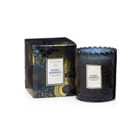 Voluspa Japonica Limited Edition Scalloped Candle Moso Bamboo