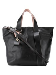 Red Valentino V Bow Tote Black
