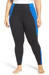 Marika Plus Size Women's Curves Xtreme Colorblock Leggings