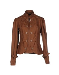 Amy Gee Coats And Jackets Jackets Women Brown