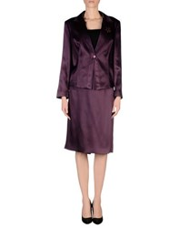 Carlo Pignatelli Cerimonia Suits And Jackets Women's Suits Women Dark Purple