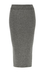 Eleven Six Eva Knit Pencil Skirt Stripe